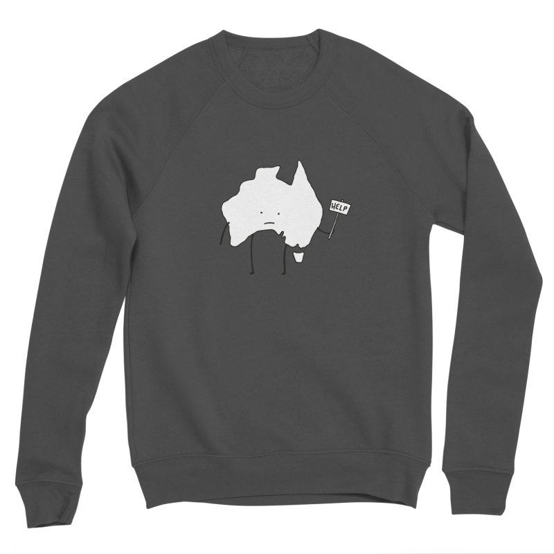 Bushfire Relief Women's Sponge Fleece Sweatshirt by Prinstachaaz