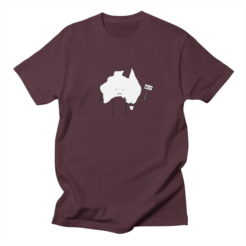 Bushfire Relief Women's Regular Unisex T-Shirt by Prinstachaaz