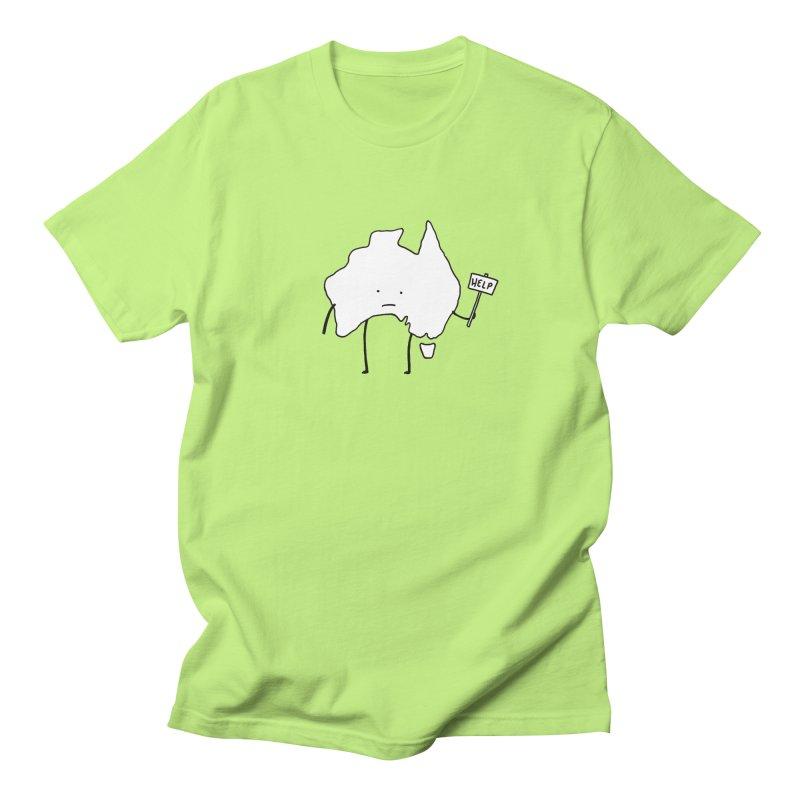 Bushfire Relief Men's Regular T-Shirt by Prinstachaaz