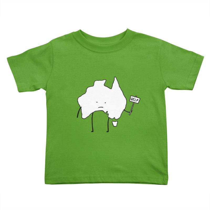 Bushfire Relief Kids Toddler T-Shirt by Prinstachaaz