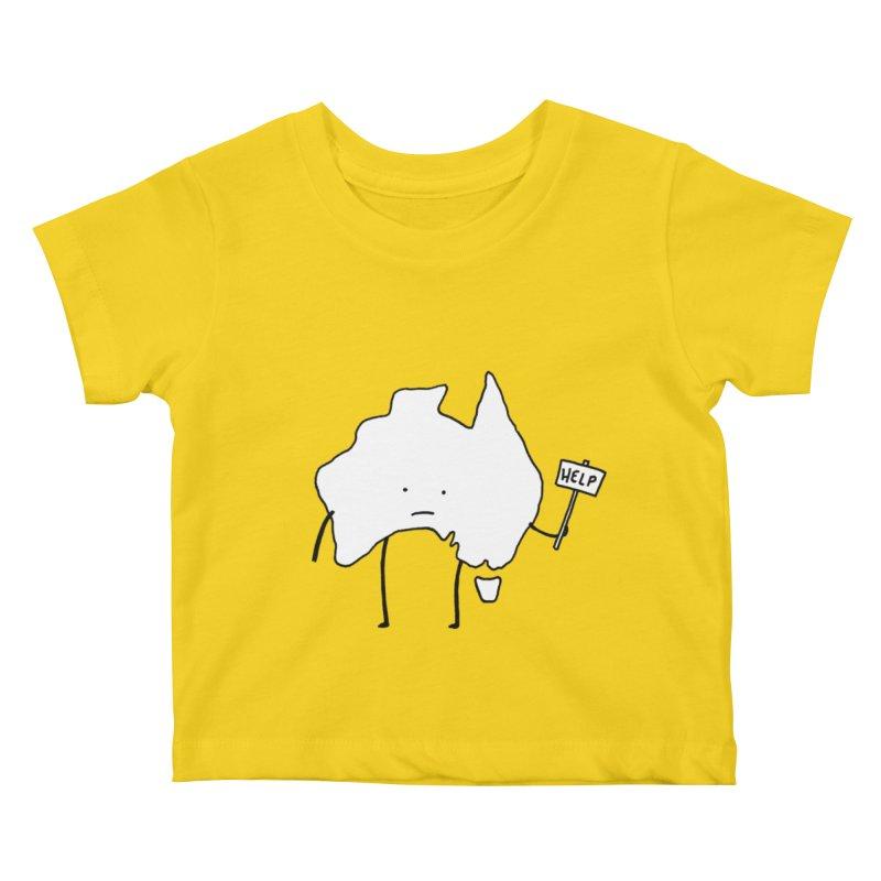Bushfire Relief Kids Baby T-Shirt by Prinstachaaz