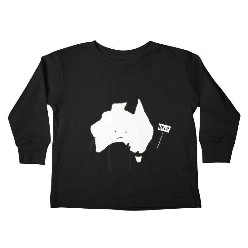 Bushfire Relief Kids Toddler Longsleeve T-Shirt by Prinstachaaz