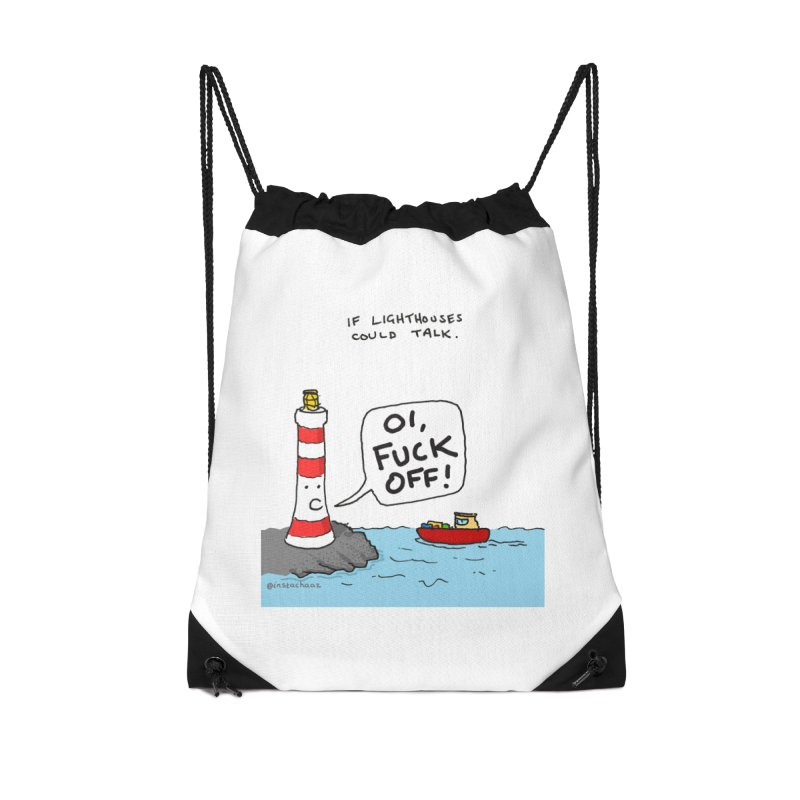 If Lighthouses Could Talk. Accessories Bag by Prinstachaaz