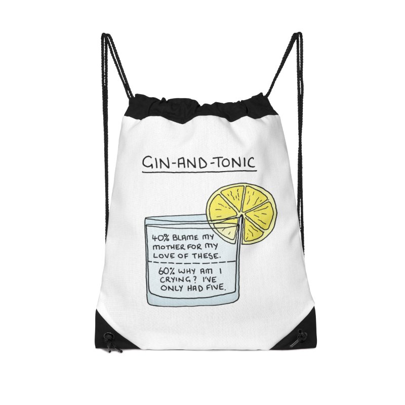 Gin and Tonic Accessories Bag by Prinstachaaz