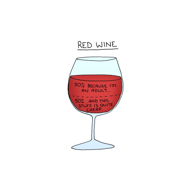 Red Wine Home Fine Art Print by Prinstachaaz