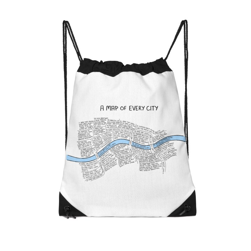 A Map of Every City Accessories Bag by Prinstachaaz