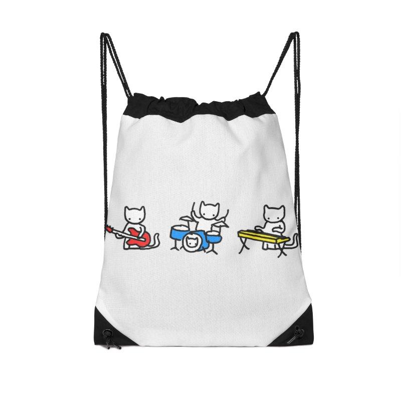 Jazz Cats - Horizontal. Accessories Bag by Prinstachaaz