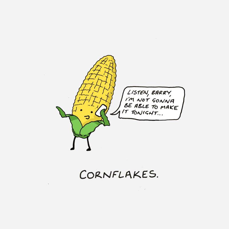 Cornflakes Accessories Neck Gaiter by Prinstachaaz