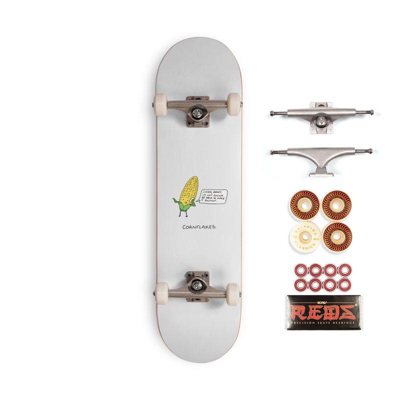 Cornflakes Accessories Skateboard by Prinstachaaz
