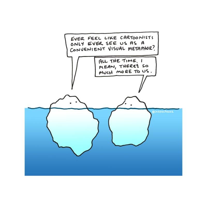 Won't someone please think of the icebergs. Women's Zip-Up Hoody by Prinstachaaz