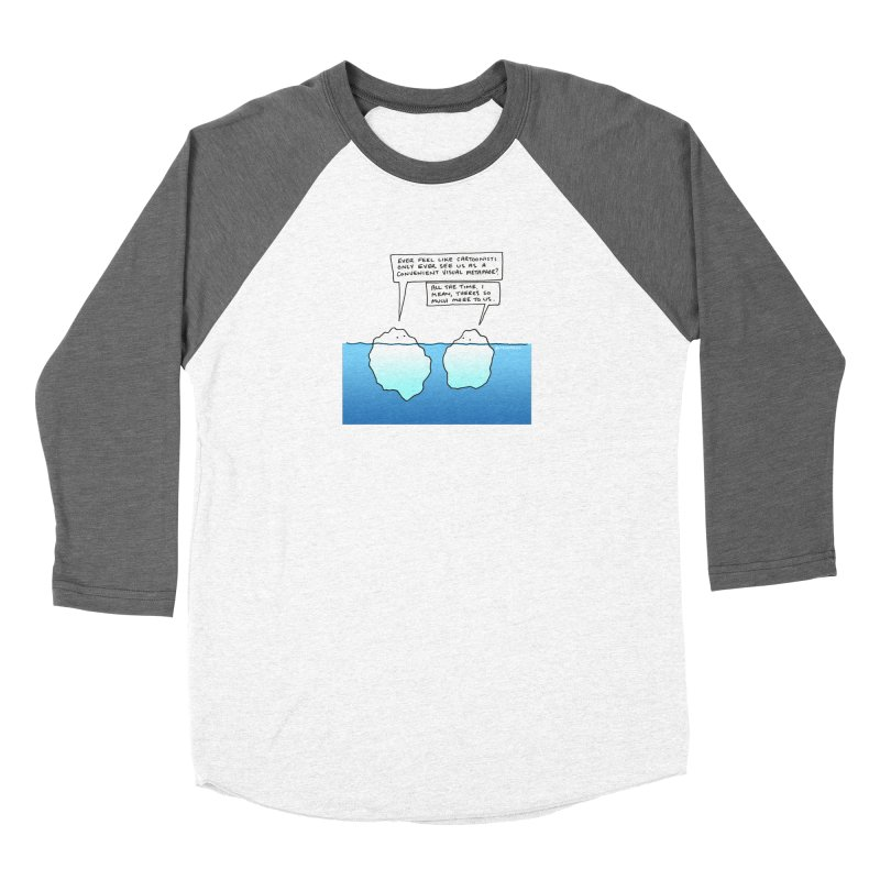 Won't someone please think of the icebergs. Women's Longsleeve T-Shirt by Prinstachaaz