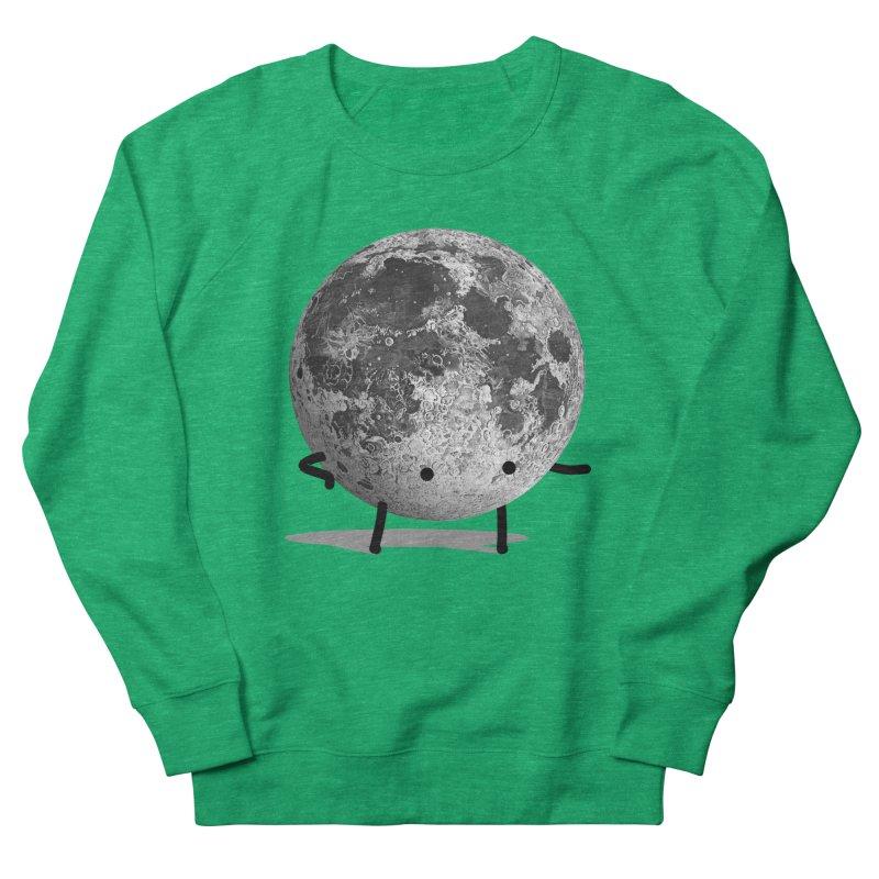 Moon Man Women's Sweatshirt by Prinstachaaz
