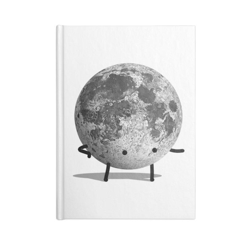 Moon Man Accessories Notebook by Prinstachaaz