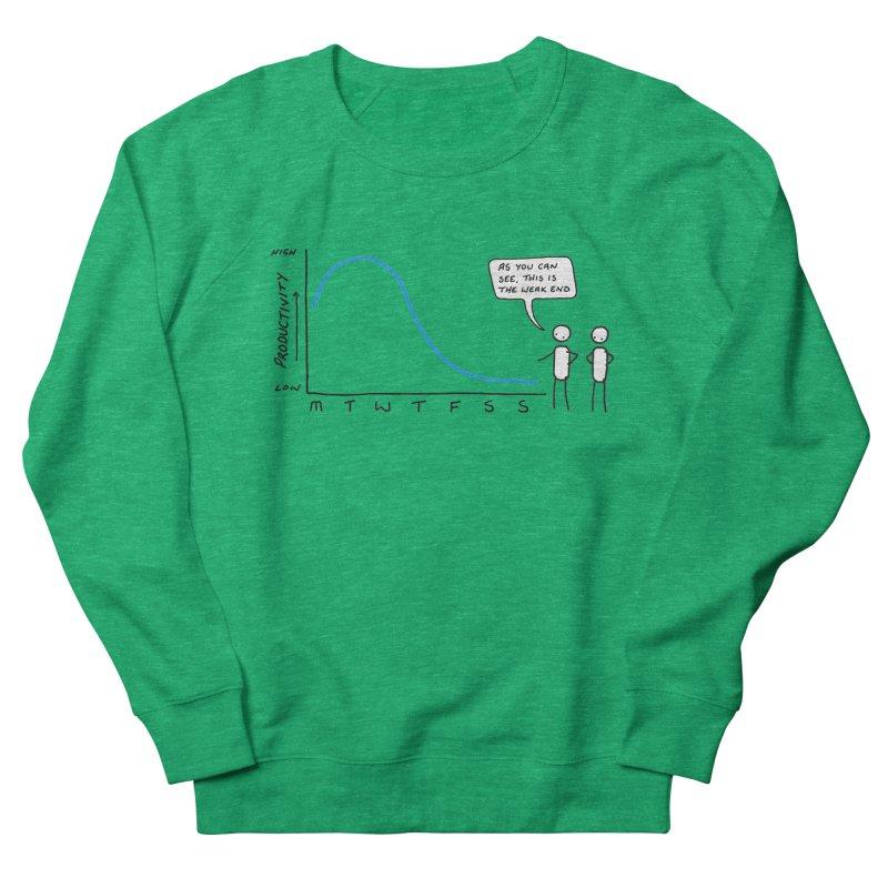 The Weak End Women's Sweatshirt by Prinstachaaz