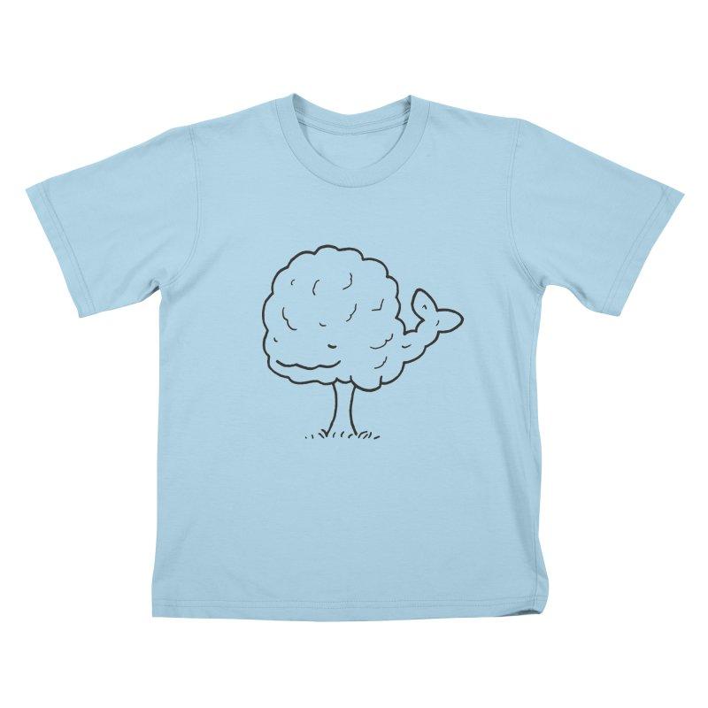 Whale Tree. Kids T-Shirt by Prinstachaaz