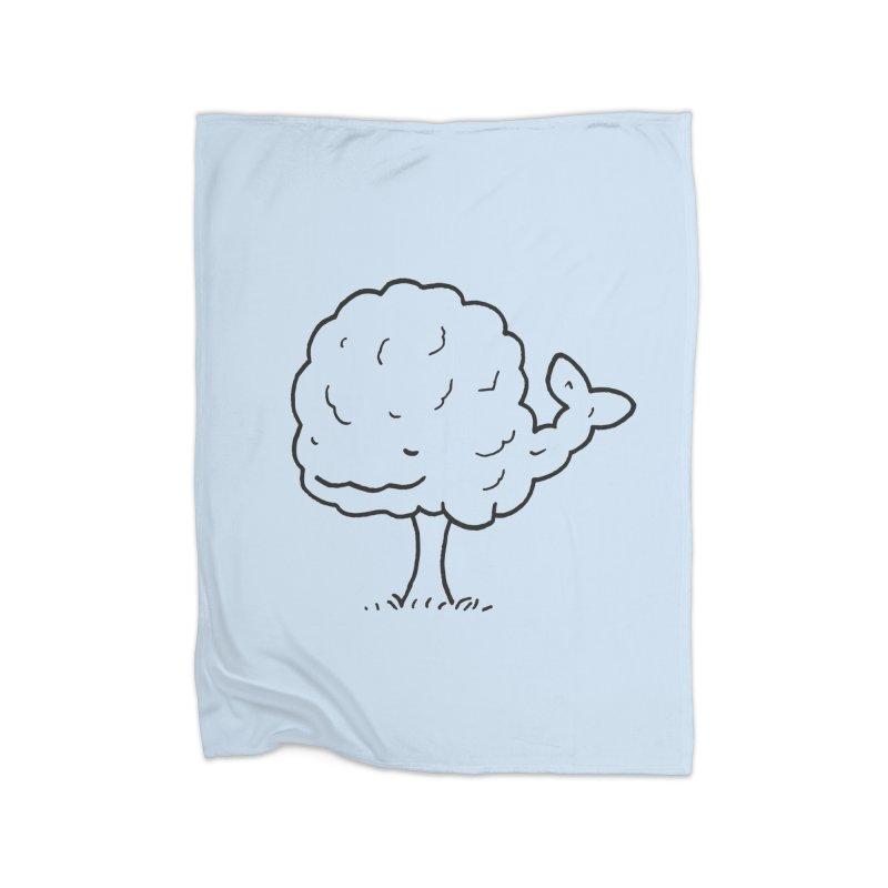 Whale Tree. Home Fleece Blanket Blanket by Prinstachaaz