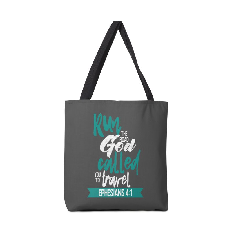 Run the Road God Called You to Travel Accessories Tote Bag Bag by Intentional Family