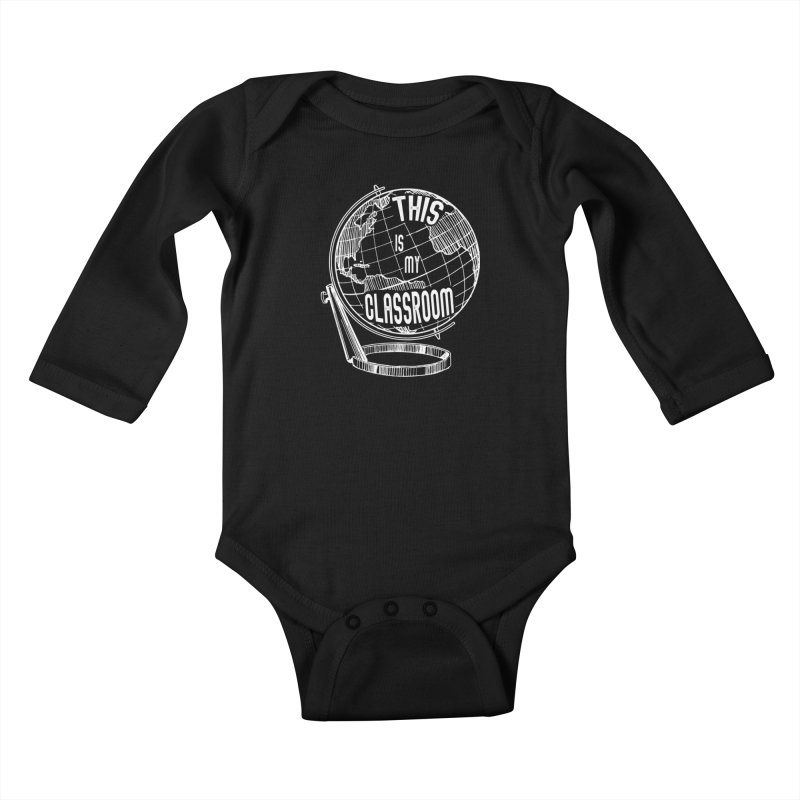 This Is My Classroom Kids Baby Longsleeve Bodysuit by Intentional Family