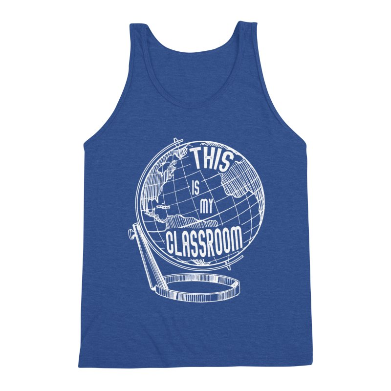 This Is My Classroom Men's Tank by Intentional Family