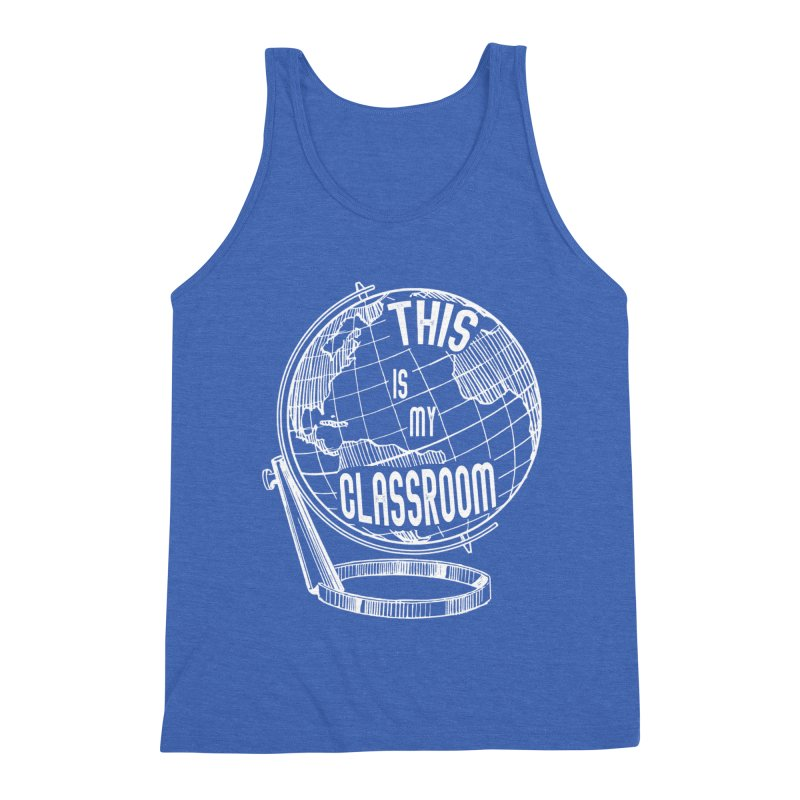 This Is My Classroom Men's Triblend Tank by Intentional Family