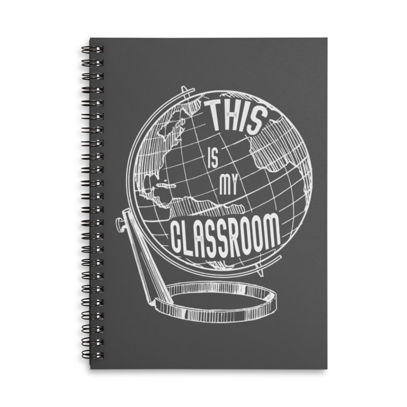 This Is My Classroom Accessories Lined Spiral Notebook by Intentional Family