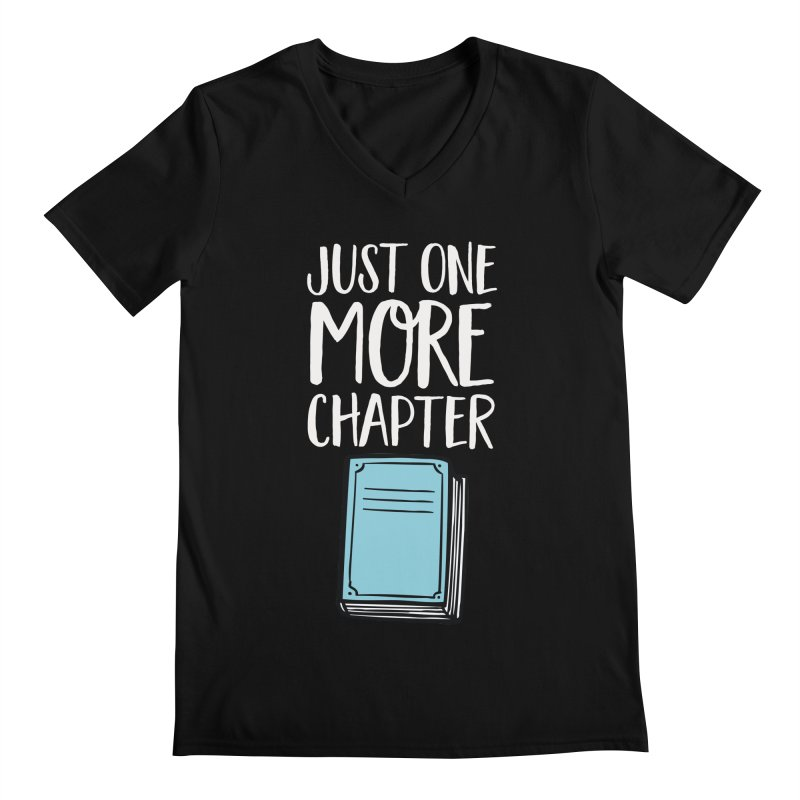 Just One More Chapter Men's V-Neck by Intentional Family