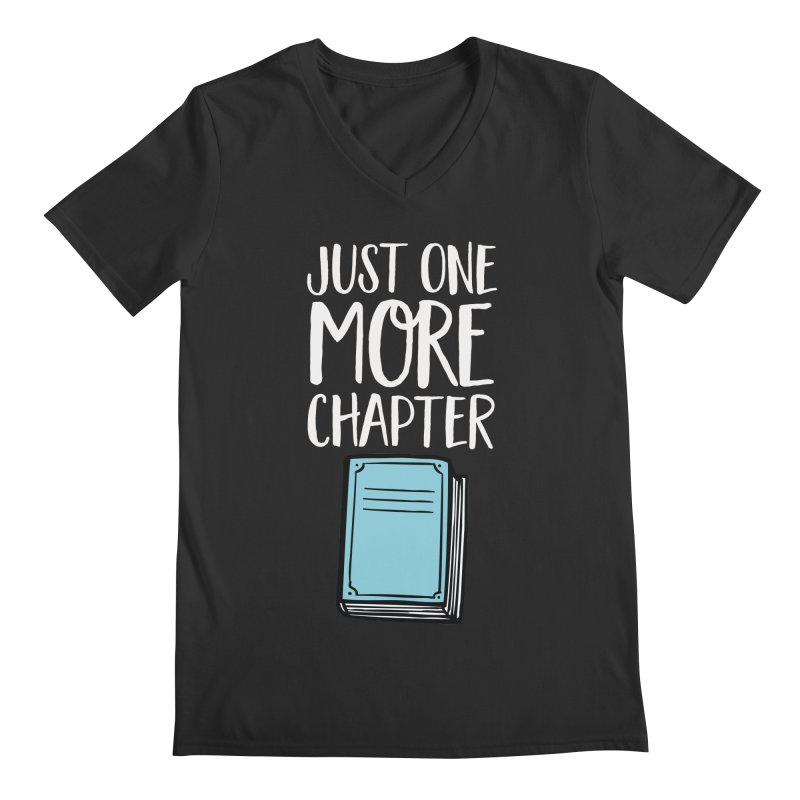 Just One More Chapter Men's Regular V-Neck by Intentional Family