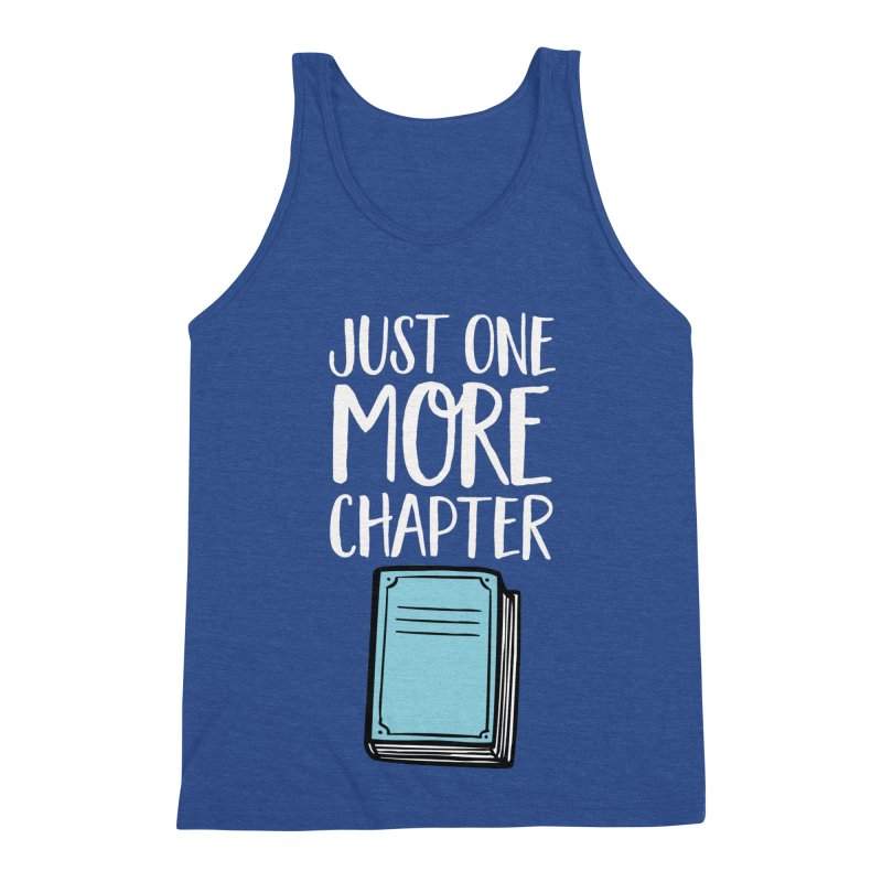 Just One More Chapter Men's Triblend Tank by Intentional Family