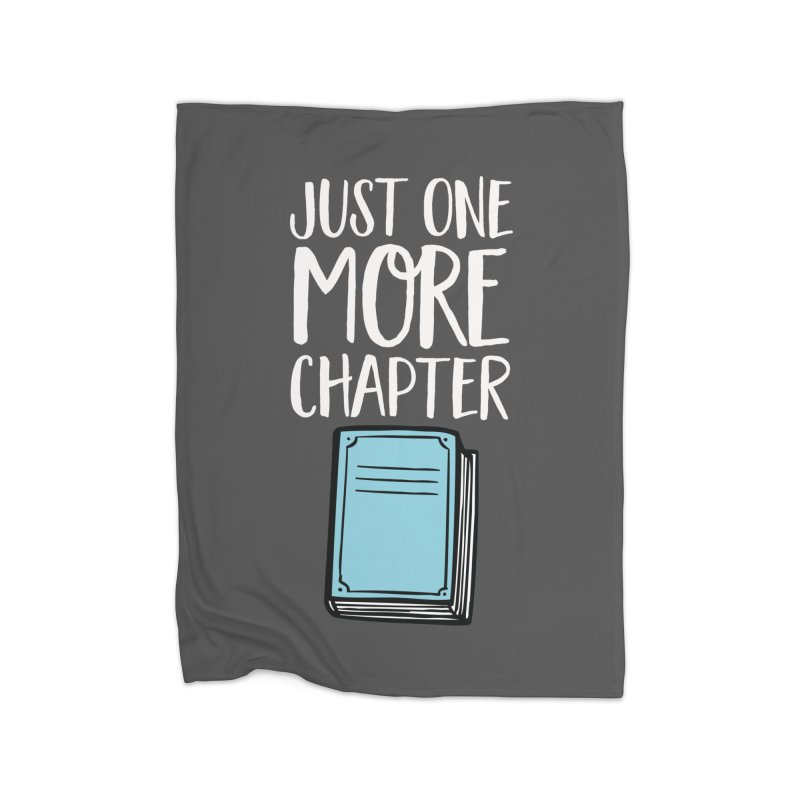Just One More Chapter Home Blanket by Intentional Family