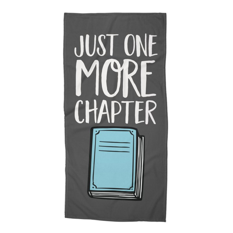 Just One More Chapter Accessories Beach Towel by Intentional Family