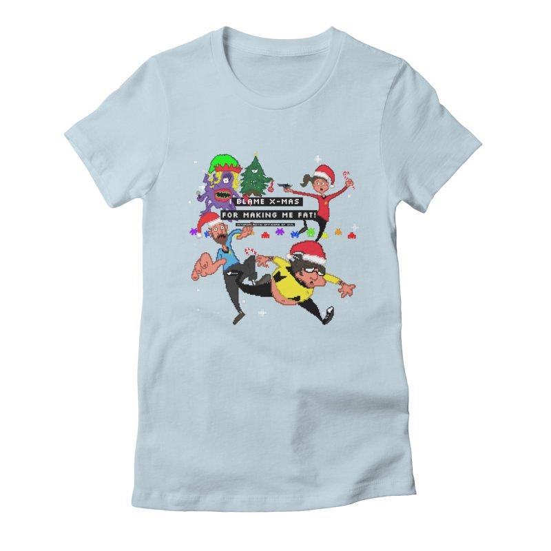 Merchandise Women's T-Shirt by Intergalatic Officers of Evil's Shop