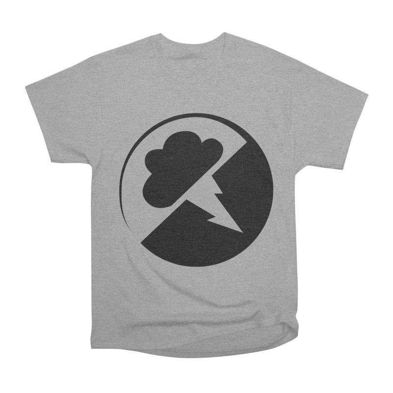 Monochrome Black Logo Men's Classic T-Shirt by Interlucid Merch