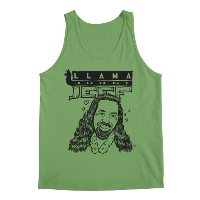 Llama Judge Men's Tank by Taylor's Internet Country Store