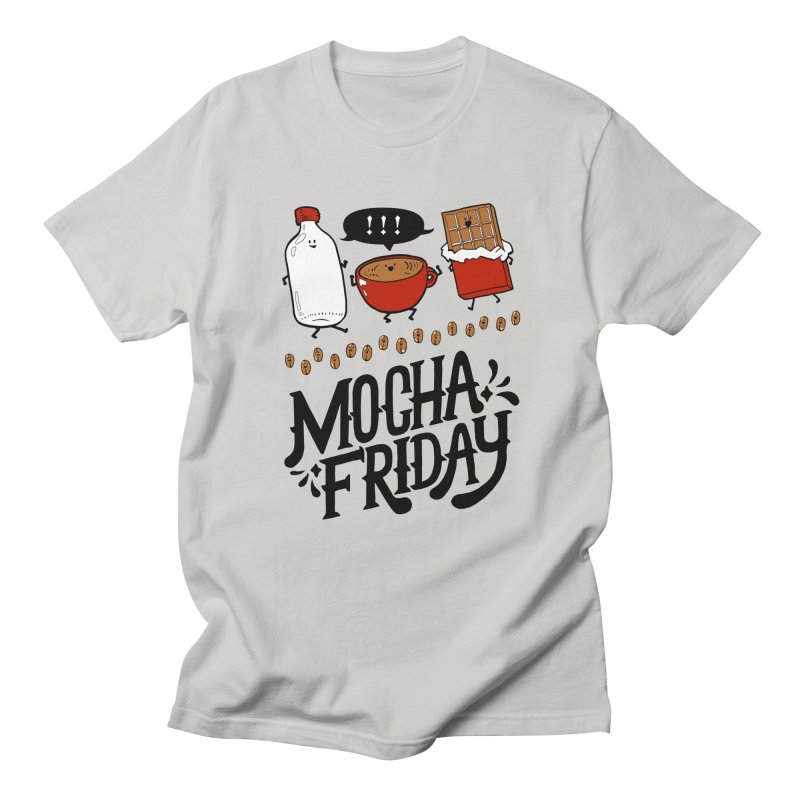 Mocha Friday Women's Regular Unisex T-Shirt by Taylor's Internet Country Store