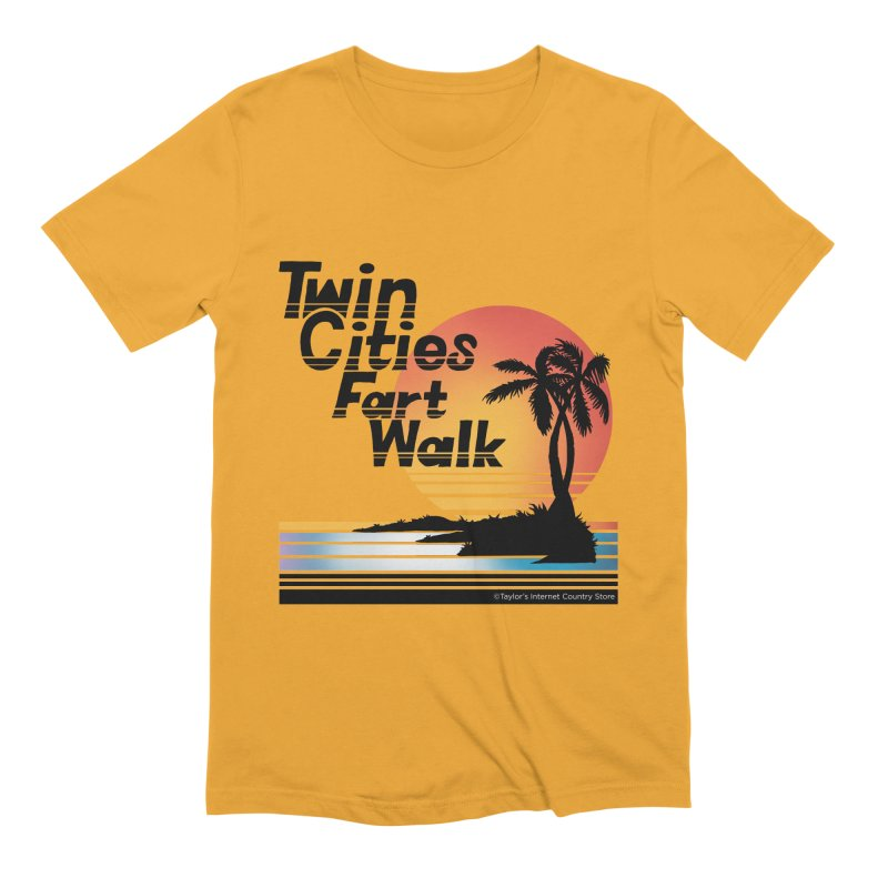 Twin Cities Fart Walk Men's T-Shirt by Taylor's Internet Country Store