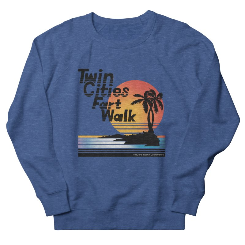 Twin Cities Fart Walk Men's French Terry Sweatshirt by Taylor's Internet Country Store