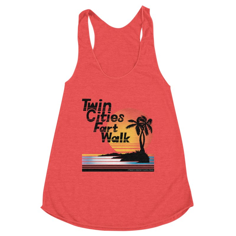 Twin Cities Fart Walk Women's Tank by Taylor's Internet Country Store