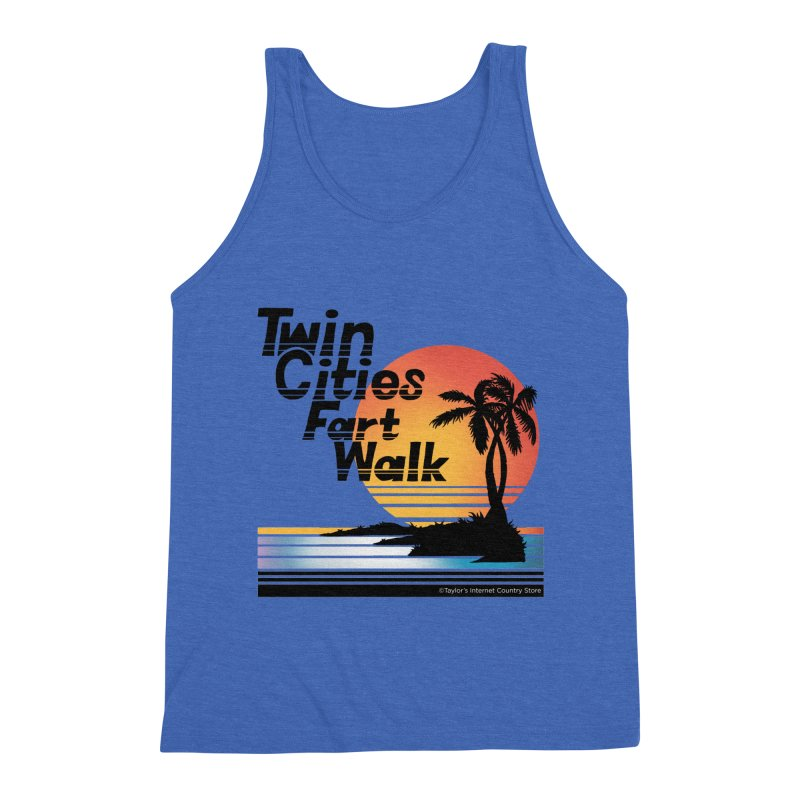 Twin Cities Fart Walk Men's Tank by Taylor's Internet Country Store