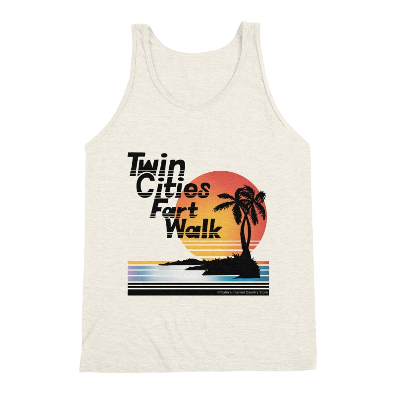 Twin Cities Fart Walk Men's Triblend Tank by Taylor's Internet Country Store