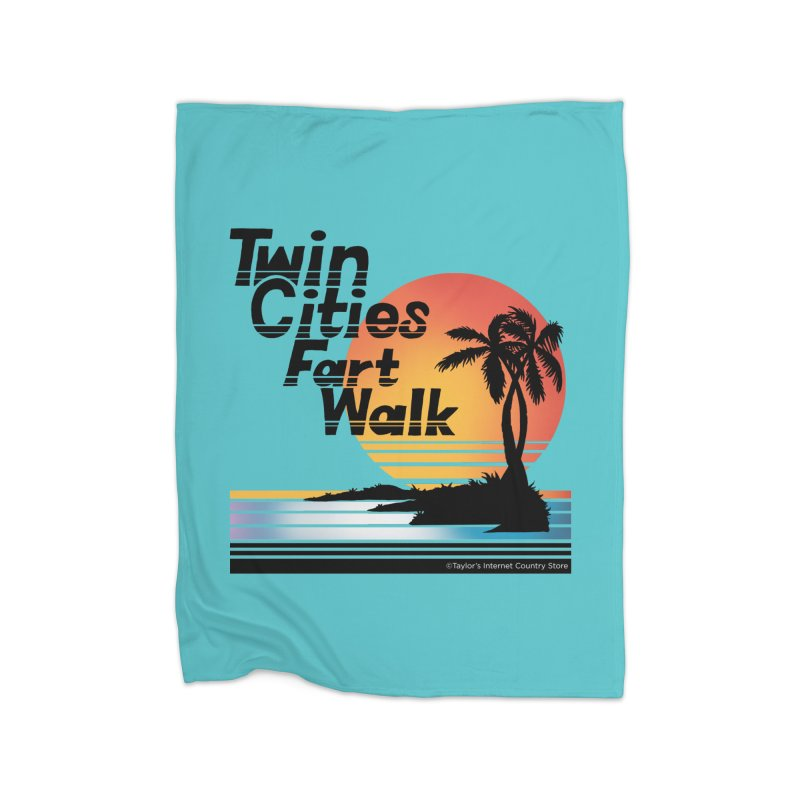Twin Cities Fart Walk Home Blanket by Taylor's Internet Country Store