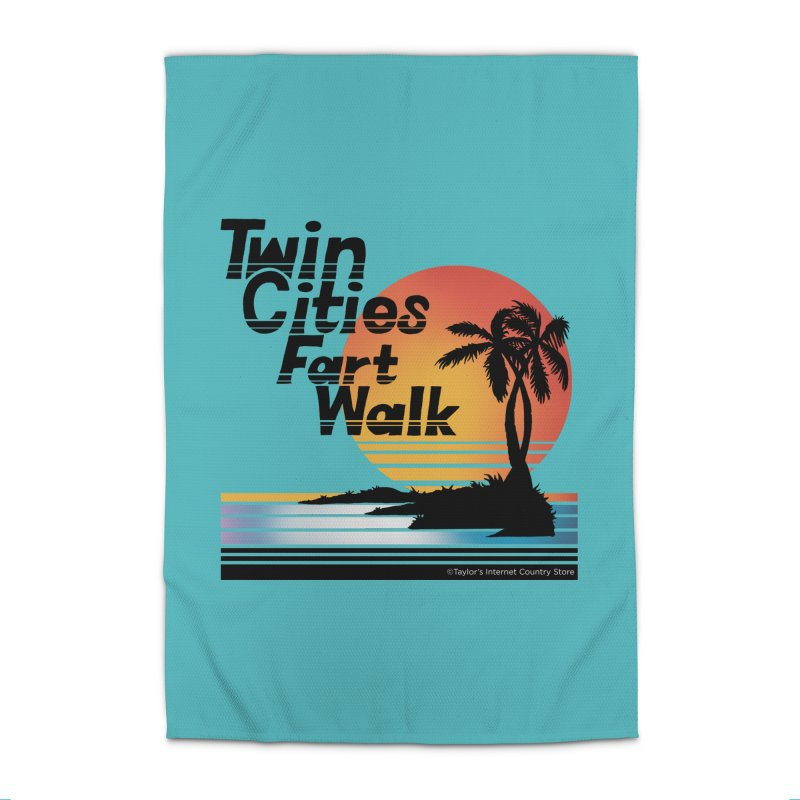 Twin Cities Fart Walk Home Rug by Taylor's Internet Country Store