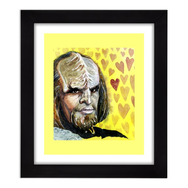 Love Worf Home Framed Fine Art Print by Taylor's Internet Country Store