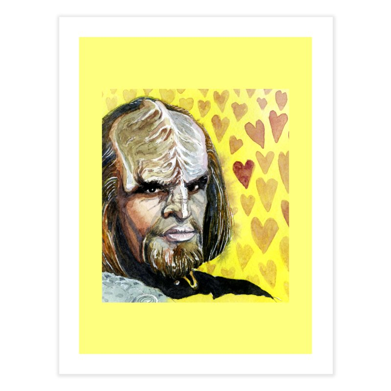 Love Worf Home Fine Art Print by Taylor's Internet Country Store