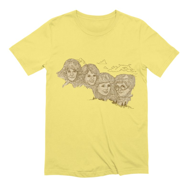 Mt Golden Girls Men's T-Shirt by Taylor's Internet Country Store