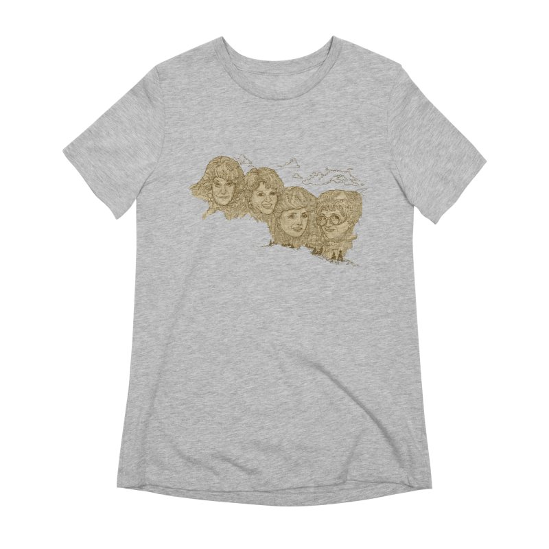 Mt Golden Girls Women's Extra Soft T-Shirt by Taylor's Internet Country Store