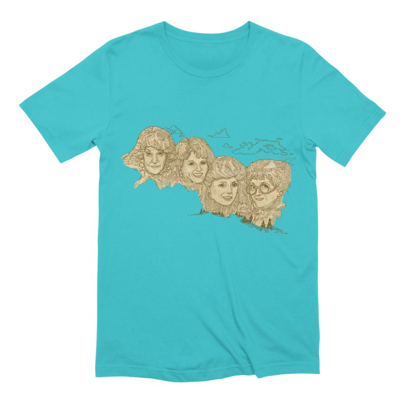 Mt Golden Girls Men's Extra Soft T-Shirt by Taylor's Internet Country Store