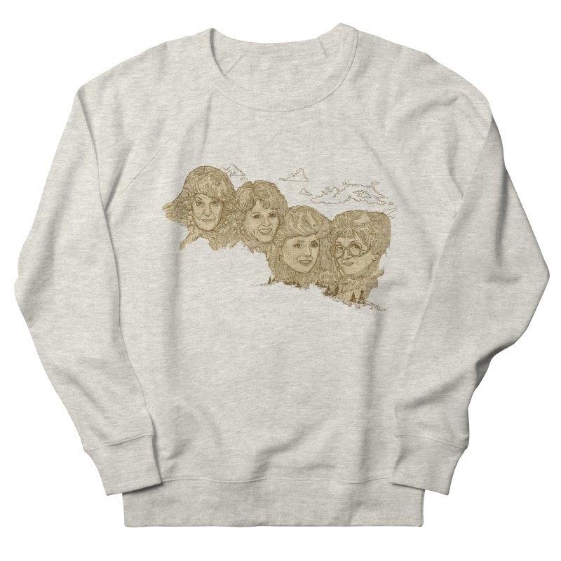 Mt Golden Girls Men's French Terry Sweatshirt by Taylor's Internet Country Store
