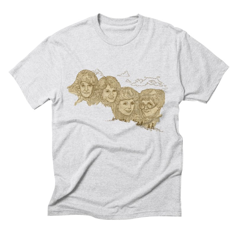 Mt Golden Girls Men's Triblend T-Shirt by Taylor's Internet Country Store
