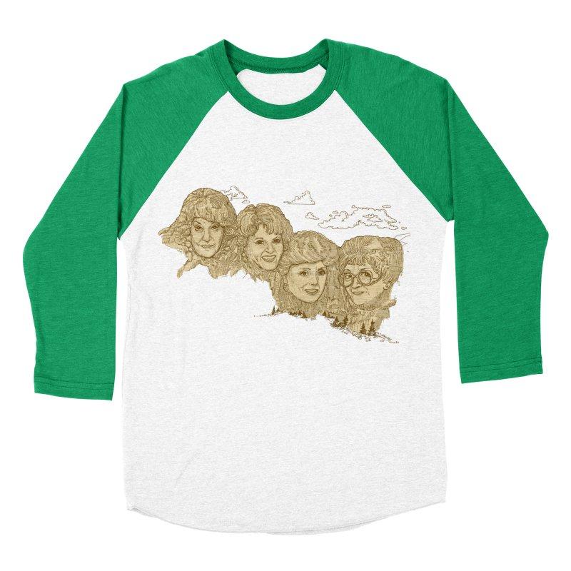 Mt Golden Girls Women's Baseball Triblend Longsleeve T-Shirt by Taylor's Internet Country Store