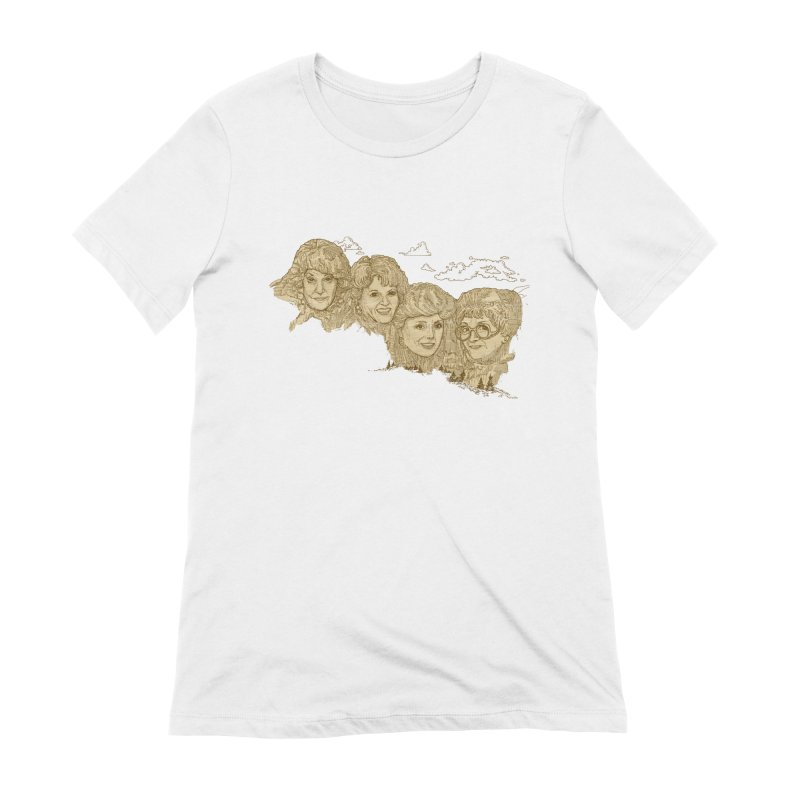 Mt Golden Girls Women's T-Shirt by Taylor's Internet Country Store